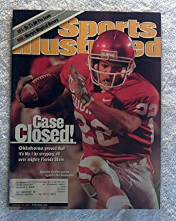 Quentin Griffin - Oklahoma Sooners - 2000 National Champions! - Orange Bowl - Sports Illustrated - January 8, 2001 - Florida State Seminoles, College Football - SI