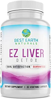 EZ Liver Detox Made with Milk Thistle, Dandelion and More for Liver Health