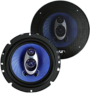 "$25 » Pyle PL63BL 6.5"" 360 Watts 3-Way Car Audio Coaxial Speakers PAIR Blue (Renewed)"