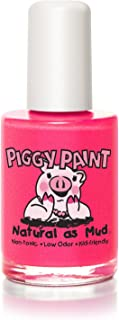 Piggy Paint 100% Non-toxic Girls Nail Polish - Safe, Chemical Free Low Odor for Kids, Forever Fancy - Great Stocking Stuff...