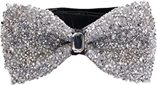 Men's Premium Metallic and Rhinestone Bow Ties for Suits and Tuxedos - Many Colors