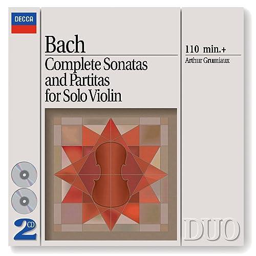J S  Bach: Sonata for Violin Solo No 2 in A minor, BWV 1003