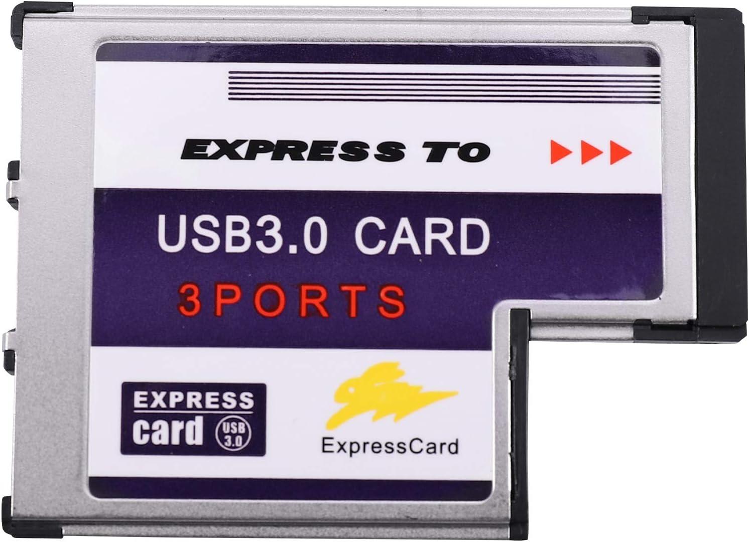 YeBetter 3 Port In a popularity Elegant Hidden Inside USB Card 54mm Express to Conve