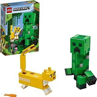 LEGO Minecraft - BigFig: Creeper y Ocelote, Juguete