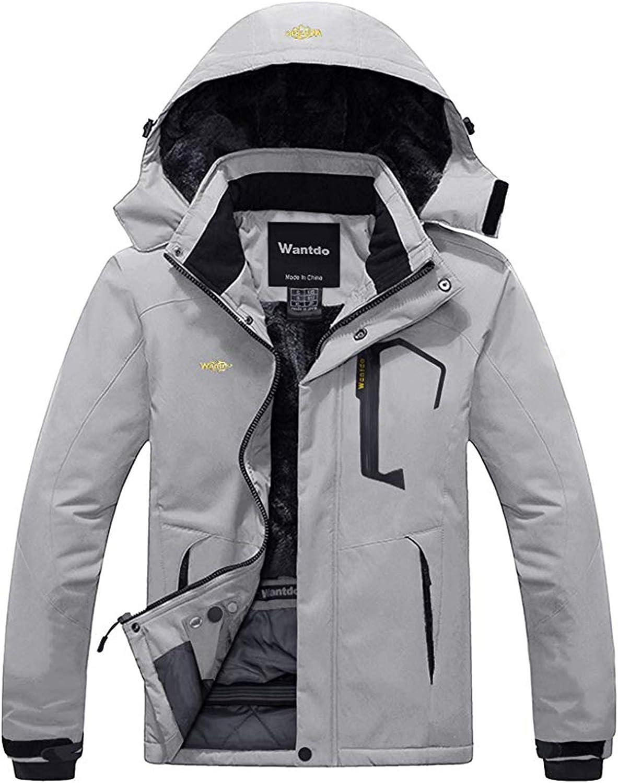 Wantdo Men's Mountain Waterproof Ski Lowest price challenge Max 46% OFF Rain Jacke Windproof Jacket