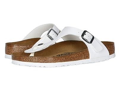 Birkenstock Gizeh (White Birko-Flortm) Sandals