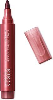 KIKO Milano Long Lasting Colour Lip Marker 104 | Rotulador para labios no-transfer, efecto tatuaje natural de muy larga du...