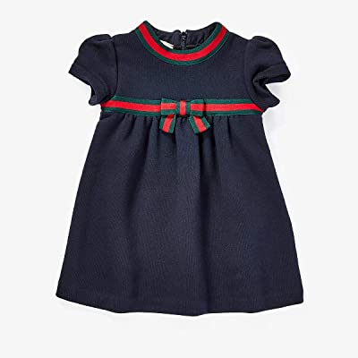 Gucci Kids Jersey 478384X9A79 (Infant) (Multi Blue) Girl