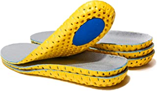 3 Pairs Elastic Shock Absorbing Shoe Insoles Breathable Honeycomb Sneaker Inserts Sports Shoe Insole Replacement Insoles f...