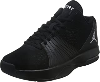 Nike Mens Jordan 5 AM Basketball Shoe Black/White 12