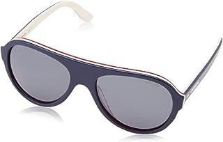Carrera 84/S Navy on Ivory/Grey Polarized Aviator Sunglasses 8W3/W7 Size 58