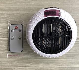 HAOSHUAI Mini Ventilador de la Llama, pequeña Oficina en casa Calentador multifunción Calentadores Calentador eléctrico darle un hogar cálido (Color : Round White Heater)