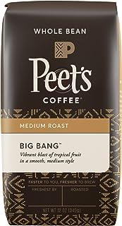 Peet's Coffee Big Bang Medium Roast Whole Bean Coffee, 12 oz