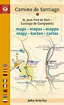 Camino de Santiago Maps: St. Jean Pied de Port - Santiago de Compostela (English and Dutch Edition)