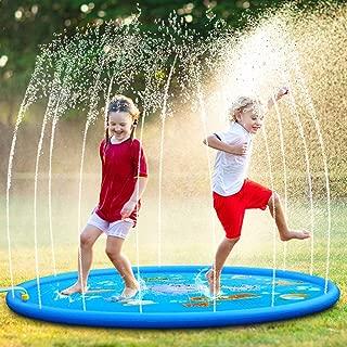 OYE HOYE Todler Water Sprinkler Splash Pad 68