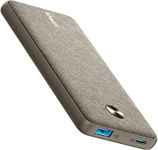 Anker PowerCore Sense 10000 PD Powerbank, 10000mAh Portable Charger USB-C Power Delivery (18W) for iPhone12 Pro/12/12 Mini...