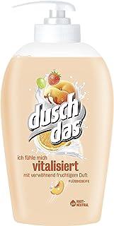Duschdas Liquid Soap Vitalises Pump Dispenser 6 Pack (6 x 250 ml)