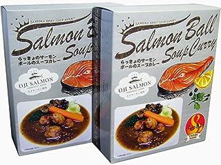 札幌スープカレー らっきょ サーモンボールのスープカレー2個セット