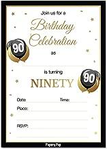 Best invitation 90th birthday Reviews