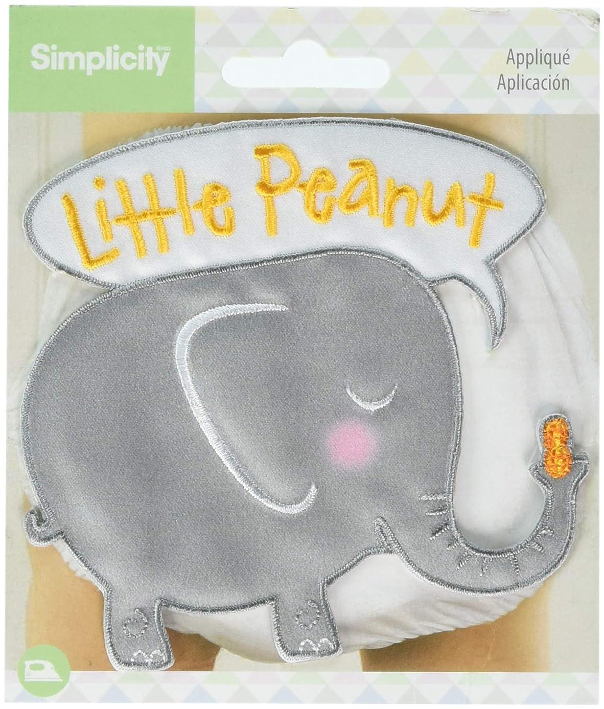 Wrights Little Peanut Baby Iron-On Applique