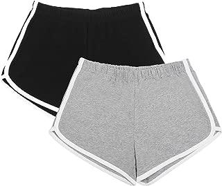 womens cotton running shorts