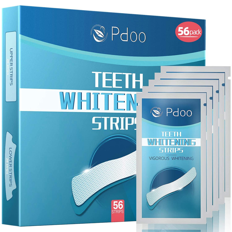 56 Pack Pdoo Teeth Whitening 28 Kit NEW before selling Popular overseas Strips Tr