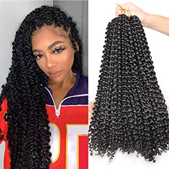 4 Packs Braiding Hair Afro Kinky Extensions Twist Crochet