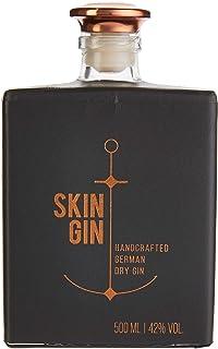 Skin Gin   Handcrafted German Gin   Anthracite Grey   Manufaktur Gin aus dem Alten Land   Koriander-Grapefruit-Limetten   42% 500ML