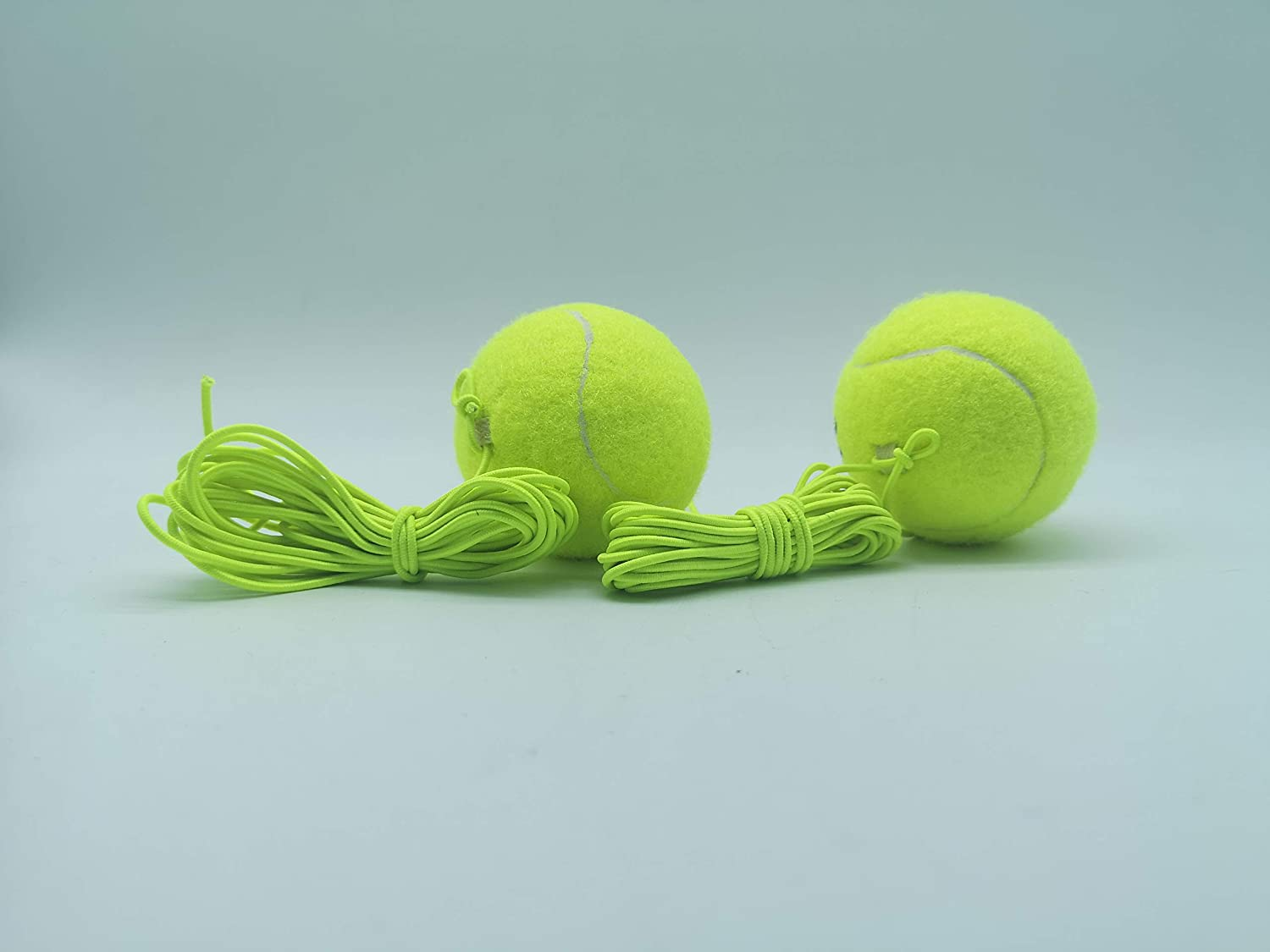 sale 2 Pack Tennis Trainer Balls Player with Single String Manufacturer regenerated product for