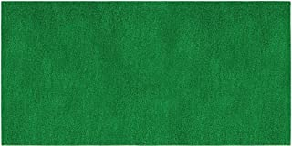 House, Home and More Outdoor Turf Rug - Green - 10 Feet X 20 Feet