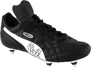 0ac222a08 Pele Brazil Autographed Black   White Vintage Puma Cleats - Fanatics  Authentic Certified - Autographed Soccer
