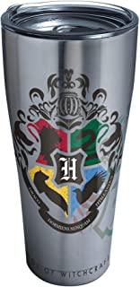 Tervis Harry Potter - Hogwarts Alumni Stainless Steel Insulated Tumbler with Lid, 30 oz, Silver