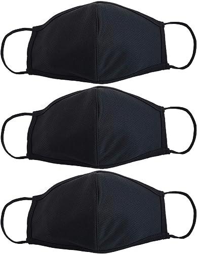 EnerPlex Enfants Premium Masque 3 Plis Visage Réutilisable Masque Disponible En Plusieurs Tailles - Confort Respirant...