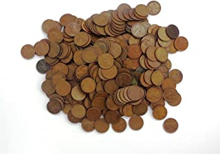 1 Various Mint Marks - Wheat Pennies by the Pound - 1 Pound Collection Circulated