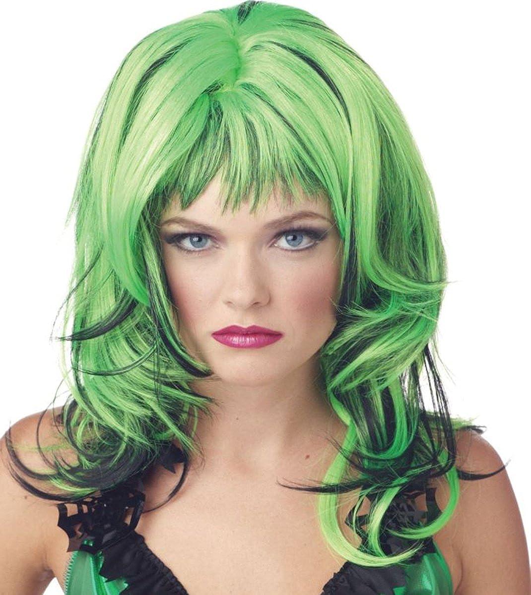 Morris Finally resale start Department store Costumes - Green Wig