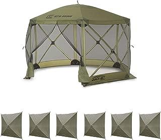 Clam Quick Set Escape Portable Canopy Shelter + Wind & Sun Panels (6 Pack)