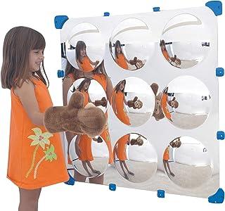 Children's Factory 32 in. 9 Square Bubble Maxi Mirror