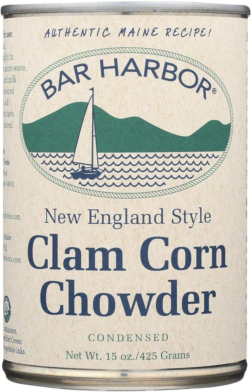 Bar Harbor Clam and Corn Chowder 15 6 OFFer - oz. Case of Nashville-Davidson Mall