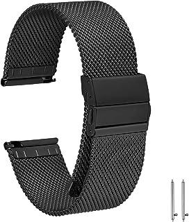 EONPOW Cinturino per Orologio Cinturino in acciaio inossidabile