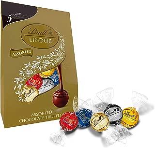 Lindt LINDOR 5 Flavors Assorted Truffles, 15.2 oz. Bag