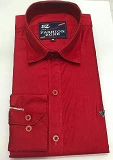 Fashion zone Men's cotton causal shirt FT0002_M