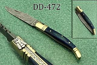 laguiole damascus steel pocket knife