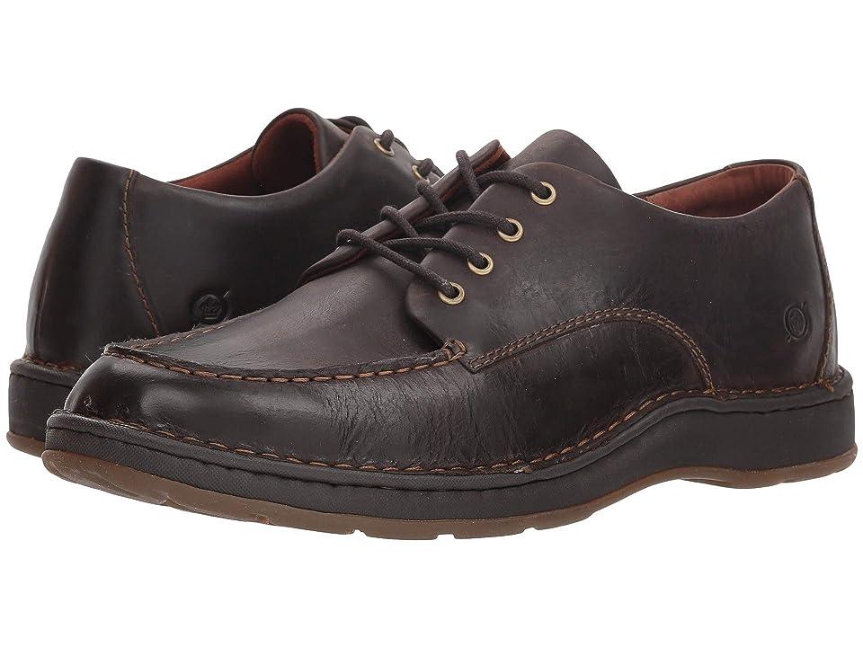Born Leon (Dark Brown (Sea Lion) Full Grain Leather) Men