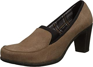 Catwalk Tan Leather Shoes for Women's