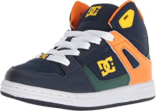 DC Kids' Pure HIGH-TOP Skate Shoe