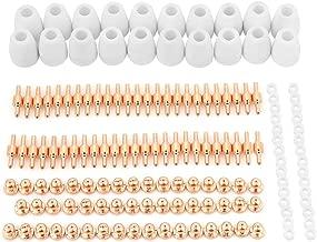 XZANTE 49pzs//juego Antorcha de soldadura TIG duradera Lente de gas tig achaparrado #10 Kit de copa de vidrio pyrex para WP-17//18//26 Mayitr Accesorios de soldadura
