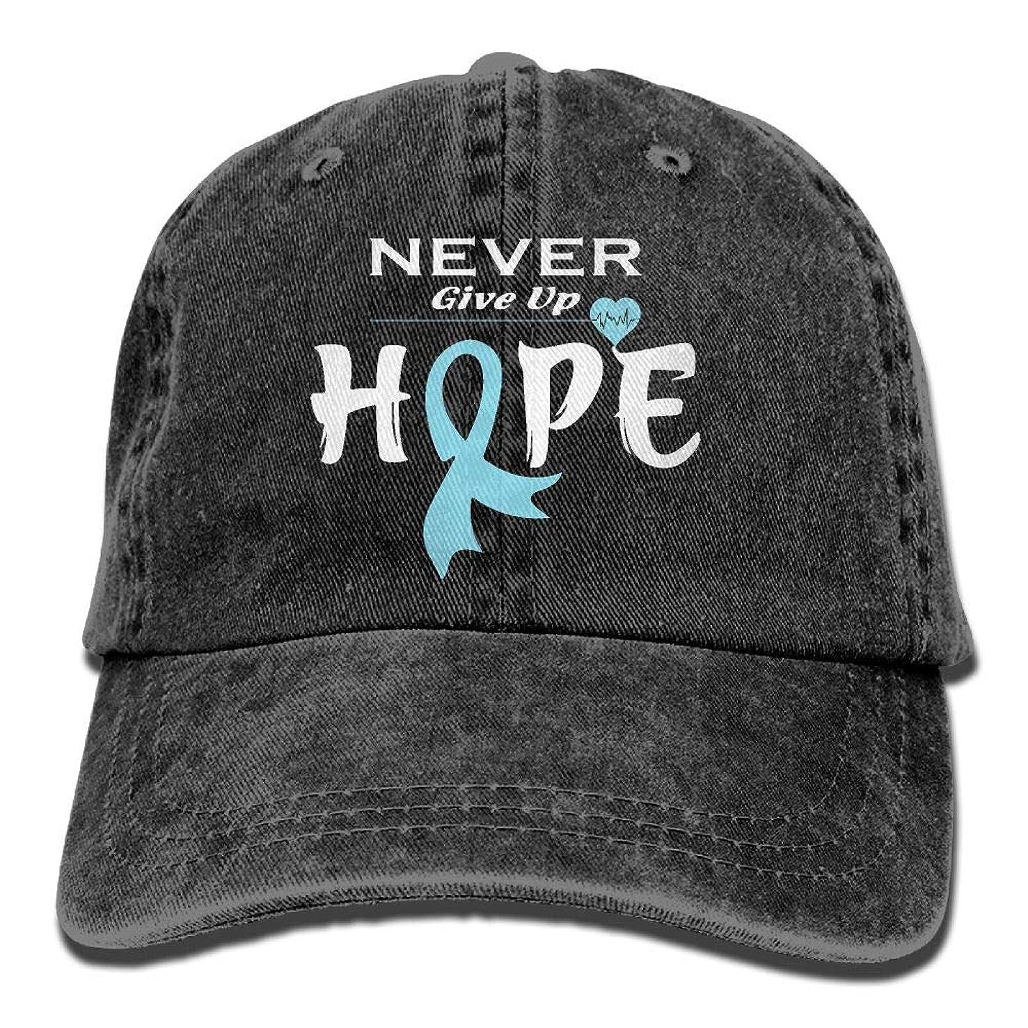 NZWJW85 2018 Adult Fashion Cotton Denim Baseball Cap Prostate Cancer Awareness-1 Classic Dad Hat Adjustable Plain Cap