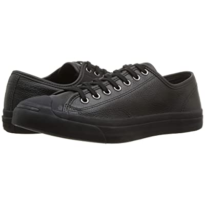 Converse Jack Purcell Jack Ox (Black/Black/Blue Fir) Lace up casual Shoes