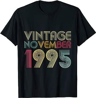 24th Birthday Gifts - Vintage November 1995 T-Shirt