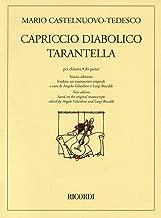 Capriccio Diabolico and Tarantella New Edition for Solo Guitar